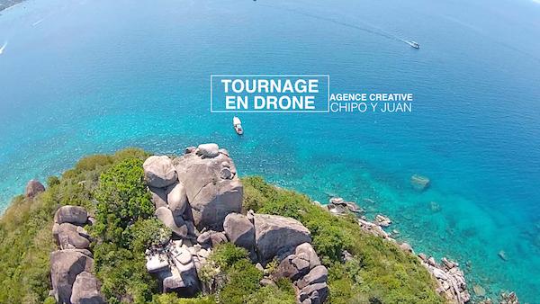 L'Agence Creative CHIPO Y JUAN réalise des tournages avec drone : location à la journée